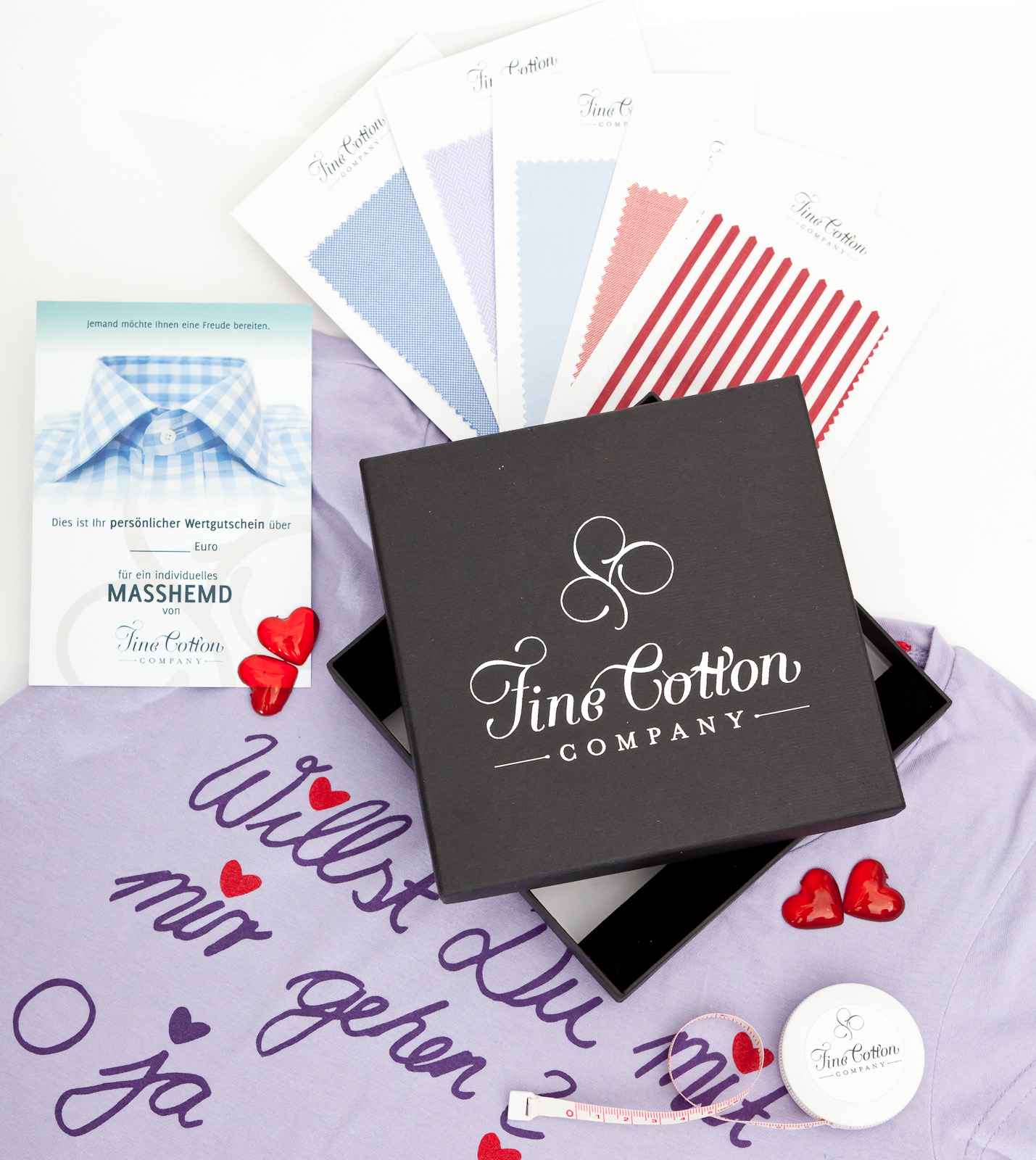 Valentinstag Geschenk Fur Manner Hemd Nach Mass Fine Cotton Company